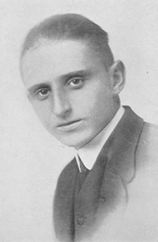 Photo of Francis Case in 1919